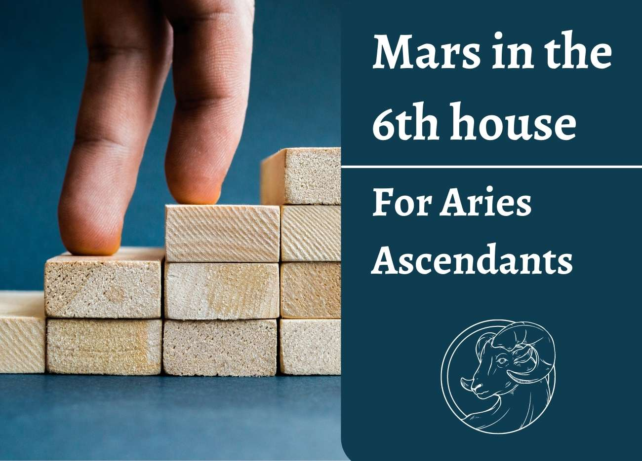 Mars in the 6th House for Aries Ascendant