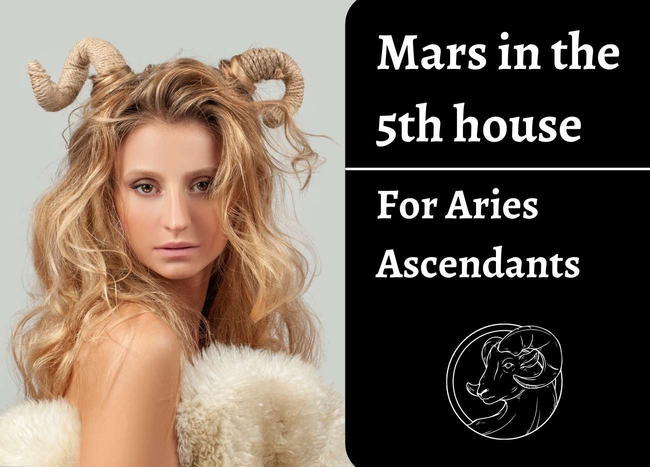 Mars in the 5th house for Aries